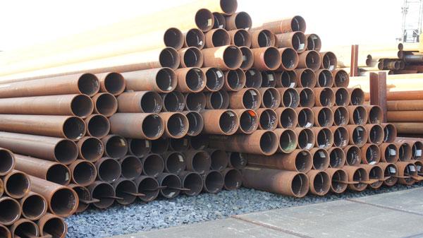 langsnaad gelaste stalen buizen met een diameter van 339,7 mm