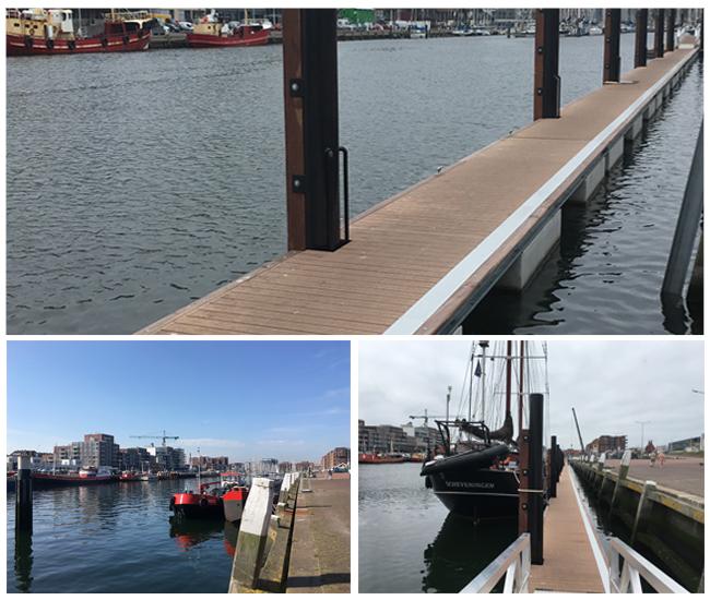 Schwimmende Steigleitung Scheveninger Hafen
