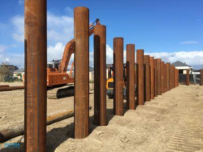 Fundamentrohre-für-den-Neubau-in-Raamsdonksveer
