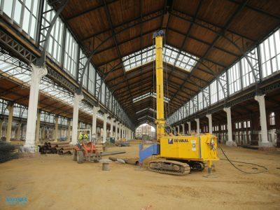 10-km-Stahlrohre-für-ein-Projek--in-Brüssel