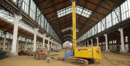 10 km Stahlrohre für ein Projekt in Brüssel