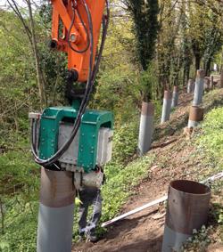 Solines liefert 16 to Stahlrohre für Fußgänger- und Radfahrbrücke in Minden