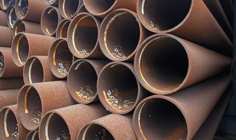 50 to 203 x 7,1 mm in der Stahlqualität S235