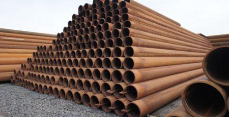 Mehr als 560 to 406,4x18,7 mm in Stahlqualität L485