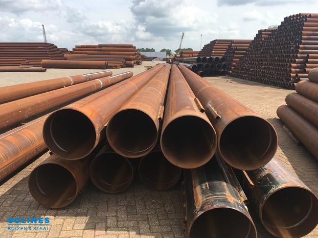 Stahlrohre für die Rheinlandroute